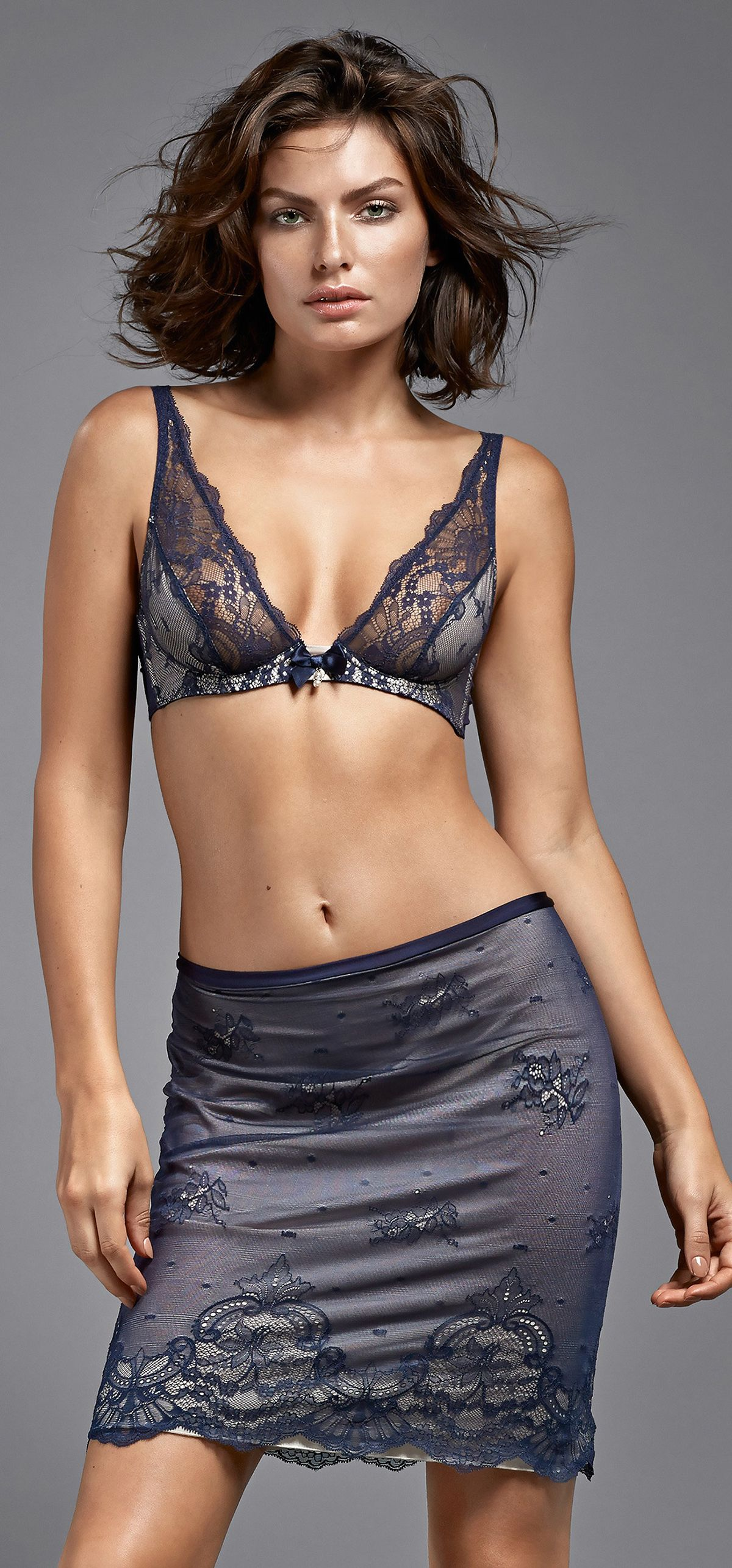 ALYSSA MILLER - Intimissimi Lingerie 2014 Collection