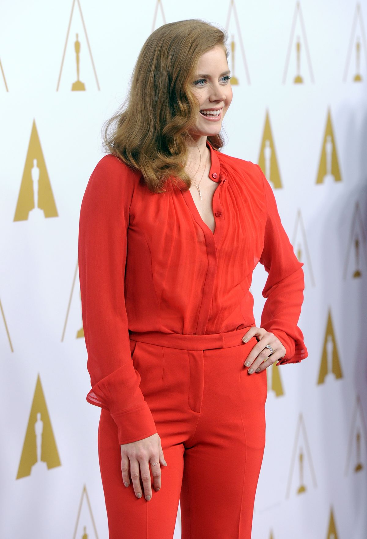AMY ADAMS at 2014 Academy Awards Nominees Luncheon in