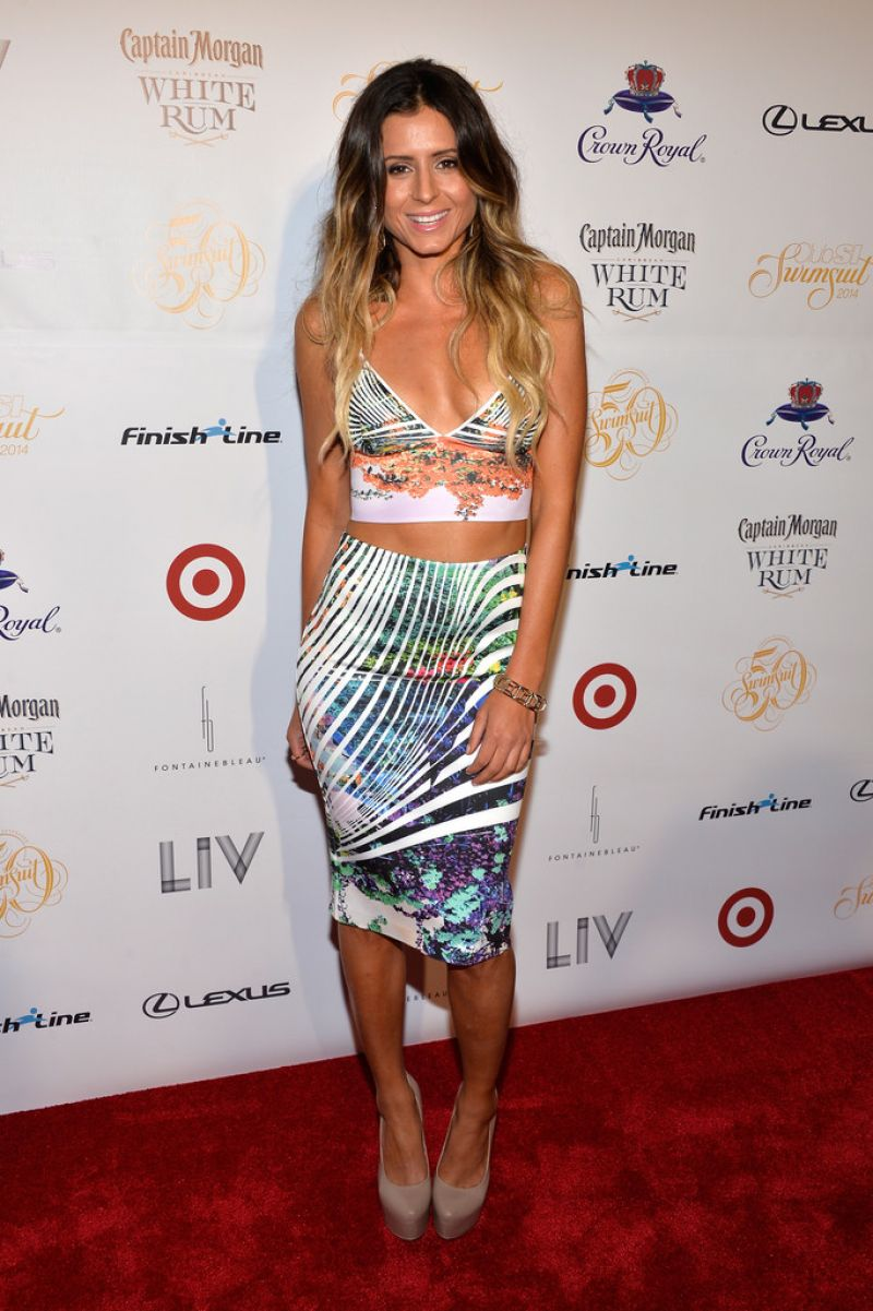 Anastasia Ashley At Club Si Swimsuit At Liv Nightclub