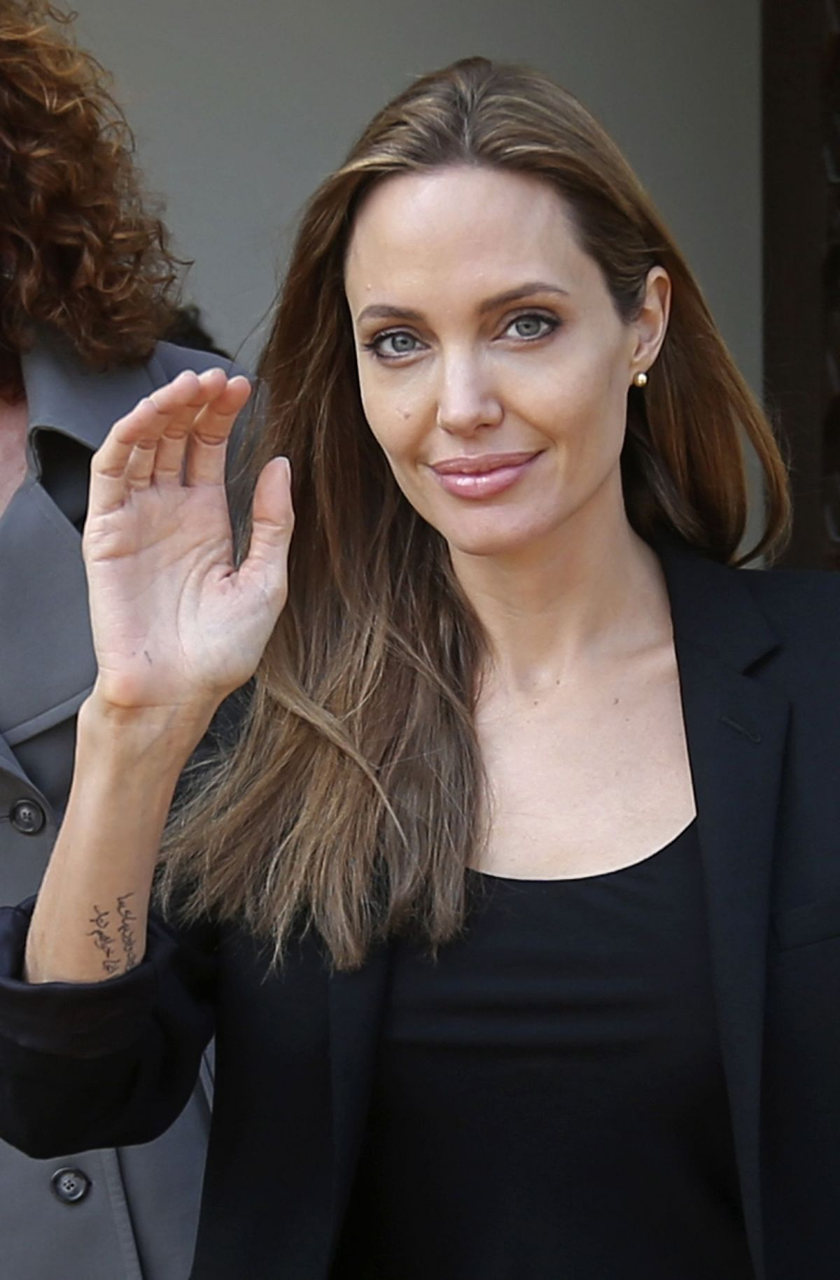ANGELINA JOLIE Leaves the Government Palace in Beirut