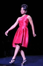 ANIKA NONI ROSE at Go Red for Women, The Heart Truth Fashion Show in New York
