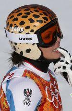 ANNA FENNINGER at 2014 Winter Olympics in Sochi