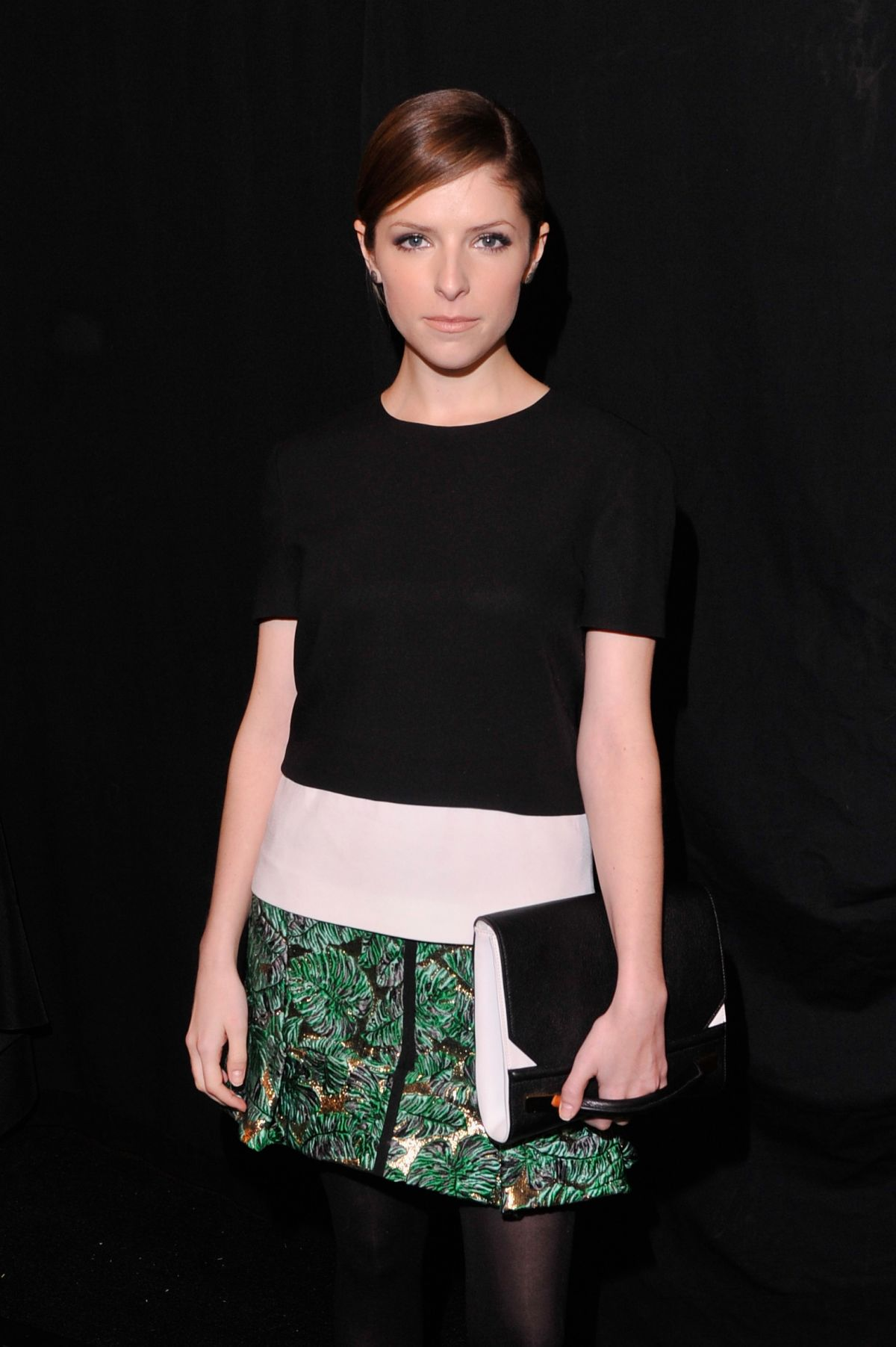 ANNA KENDRICK at J. Mendel Fashion Show at in New York
