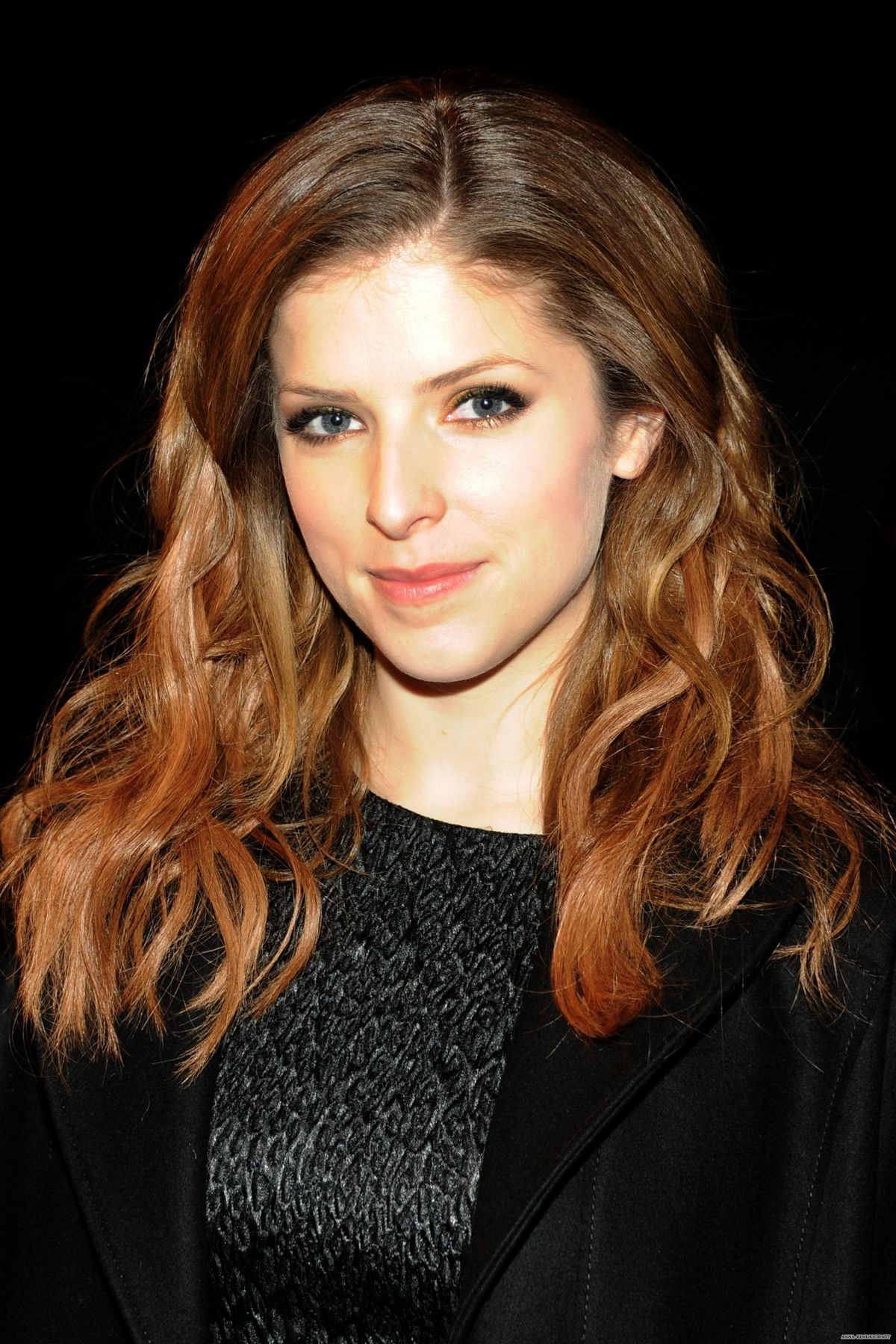 ANNA KENDRICK at Philosophy Fashion Show by Natalie Ratabesi in New York