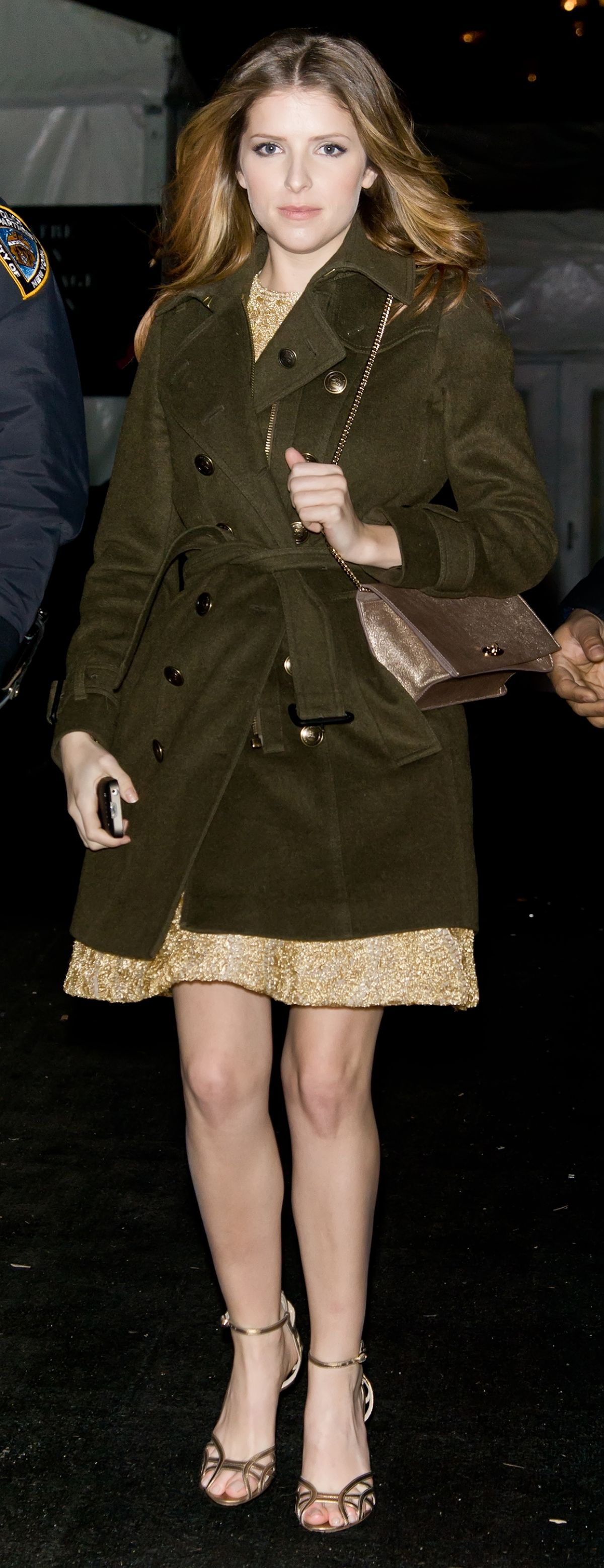 ANNA KENDRICK Out and About in New York