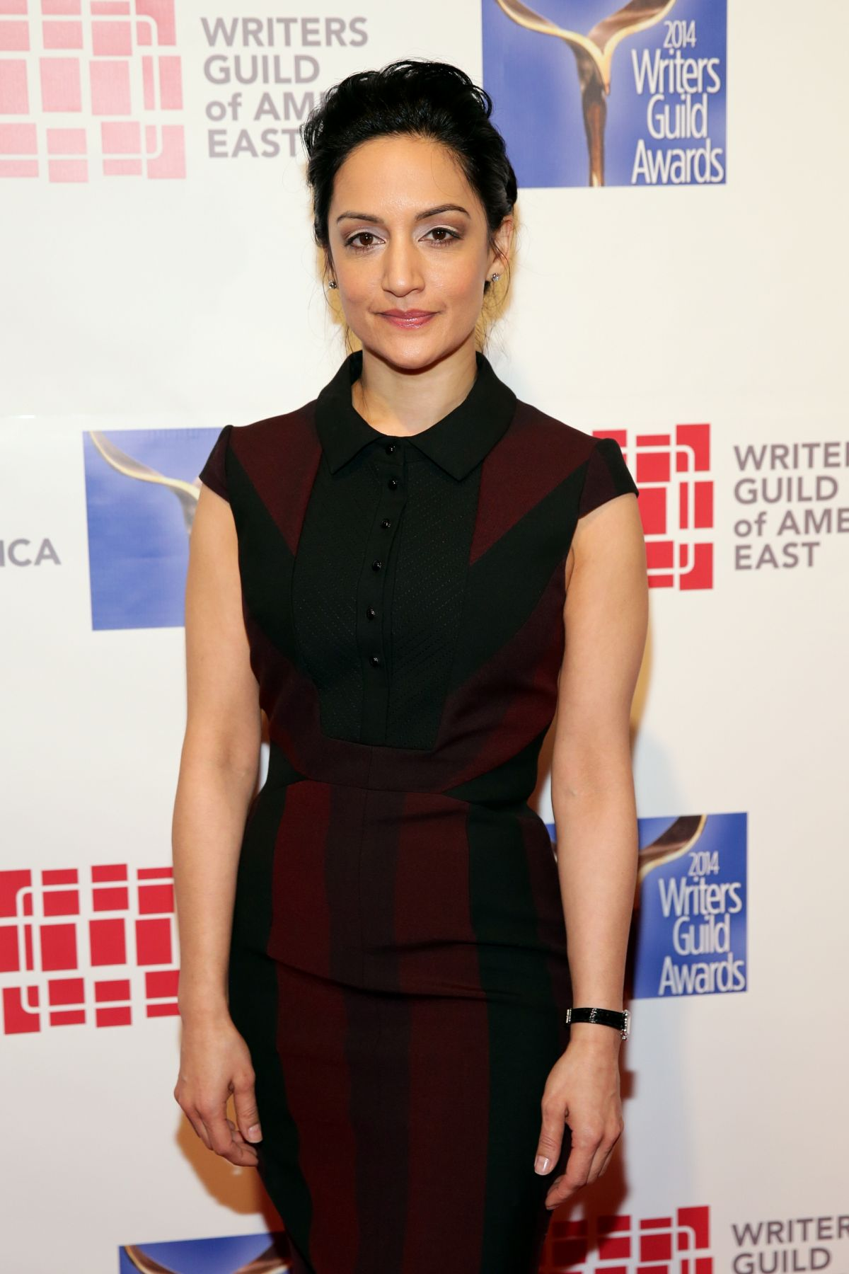 ARCHIE PANJABI at 2014 Writers Guild Awards in New York