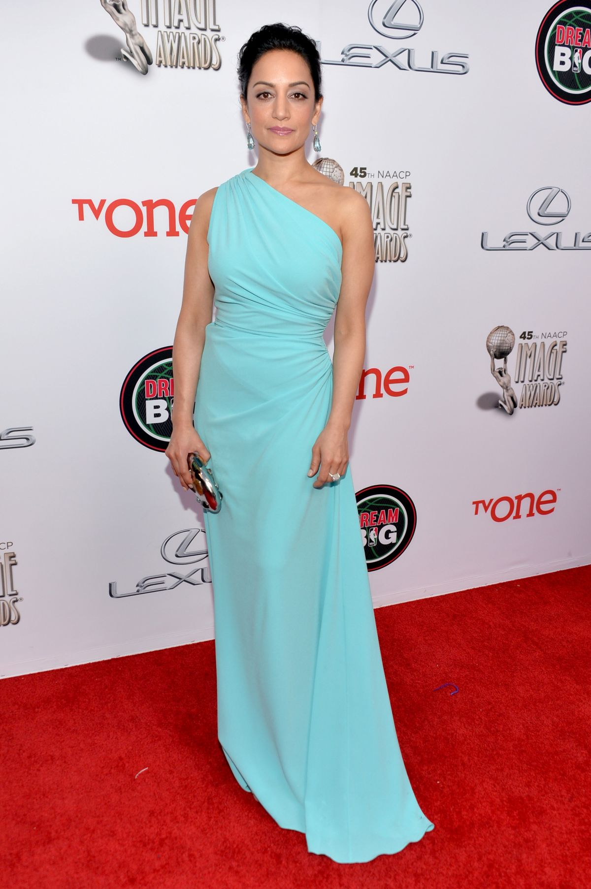 ARCHIE PANJABI at 45th NAACP Image Awards in Pasadena