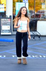 ARIANA GRANDE in Tank Top Out in Los Angeles