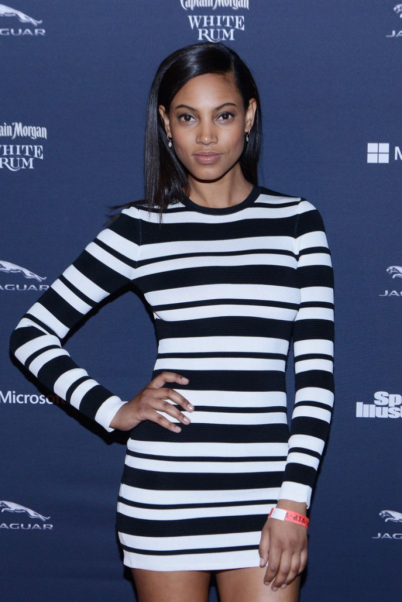 ARIEL MEREDITH at Sports Illustrated and Jaguar Super Saturday VIP Party in New Yrok