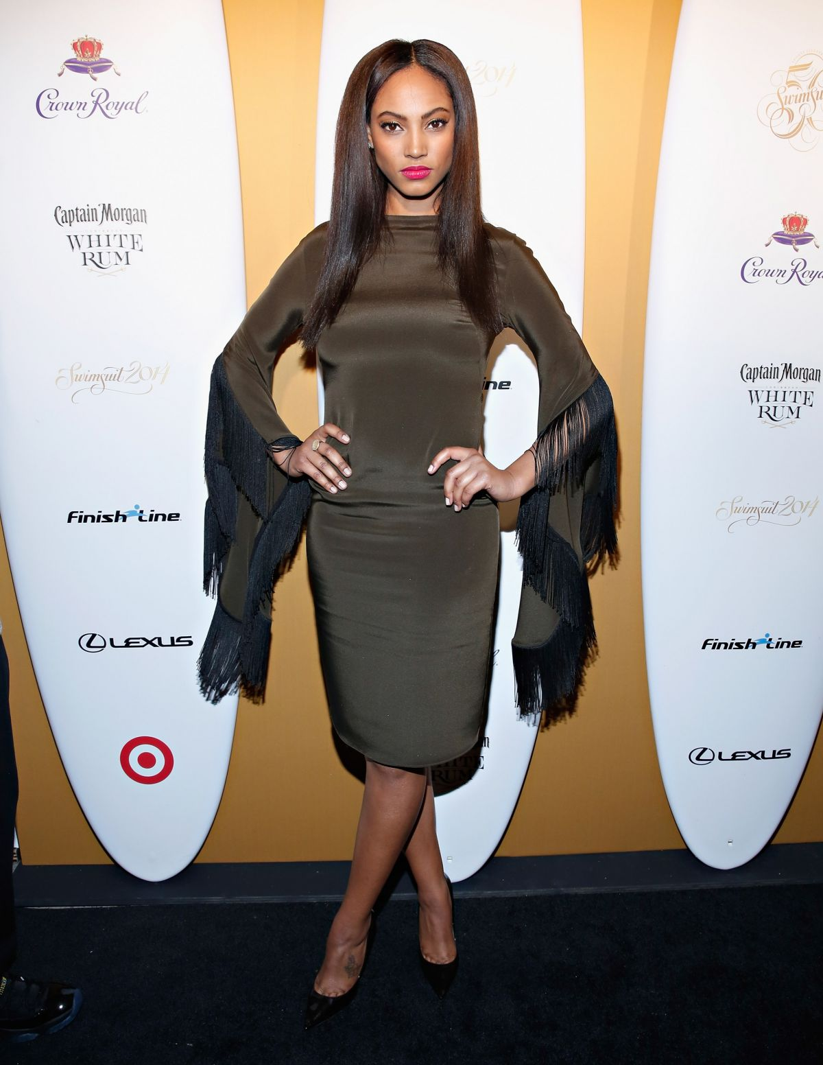 ARIEL MEREDITH at Sports Illustrated Swimsuit 50 Years of Swim Celebration in New York