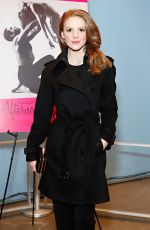 ASHLEY BELL at Afternoon of a Sun Screening in New York