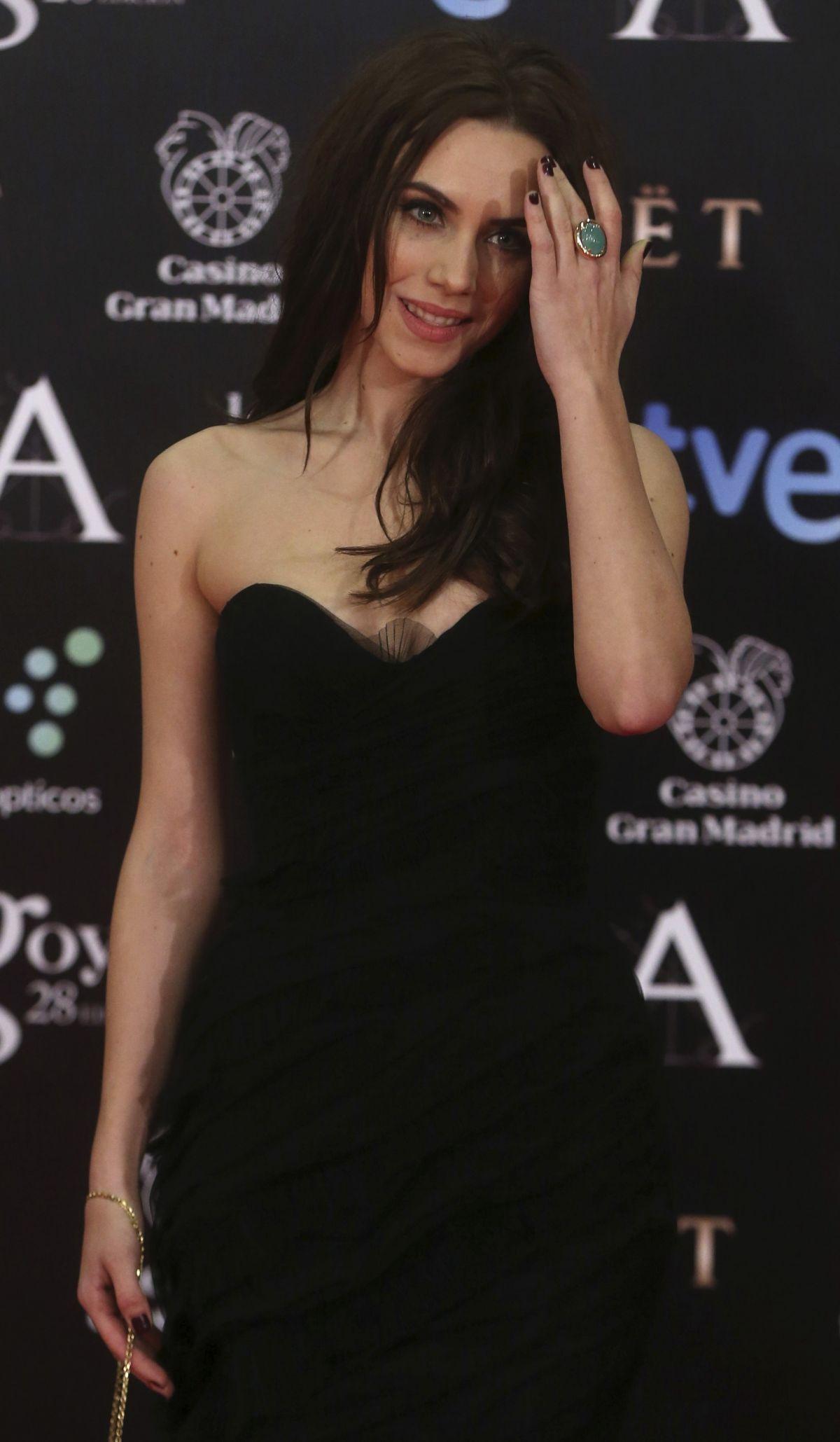 AURA GARRIDO at 2014 Goya Film Awards in Madrid