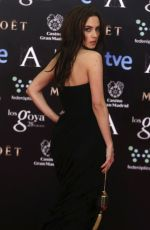 AURA GARRIDO at 2014 Goya Film Awards in Madrid
