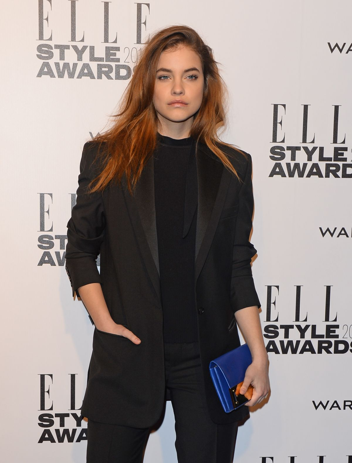 BARBARA ALVIN at 2014 Elle Style Awards in London