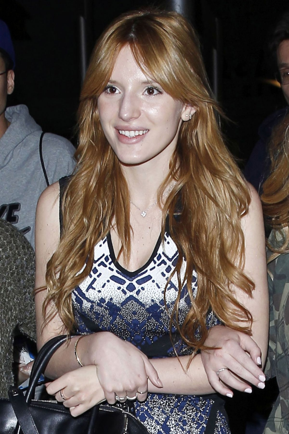 BELLA THORNE Leaves Arclight Cinema in Hollywood