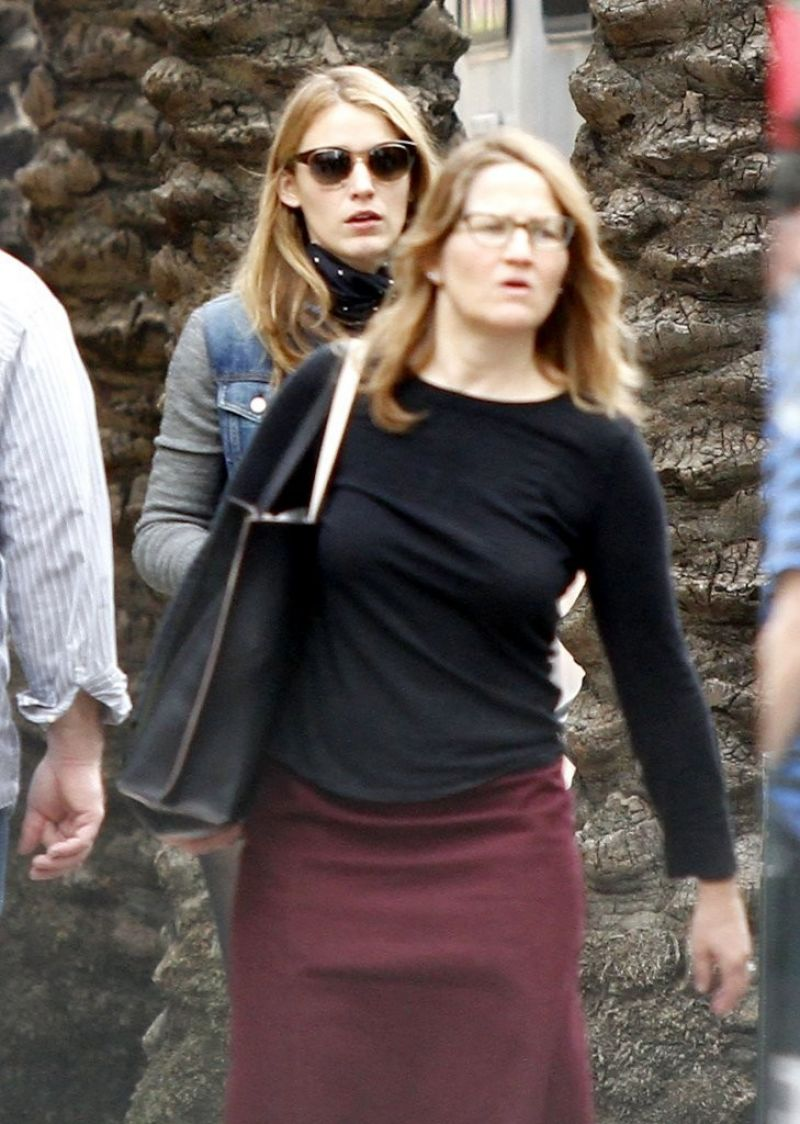 BLAKE LIVELY on the Set of Mississippi Grind in New Orleans