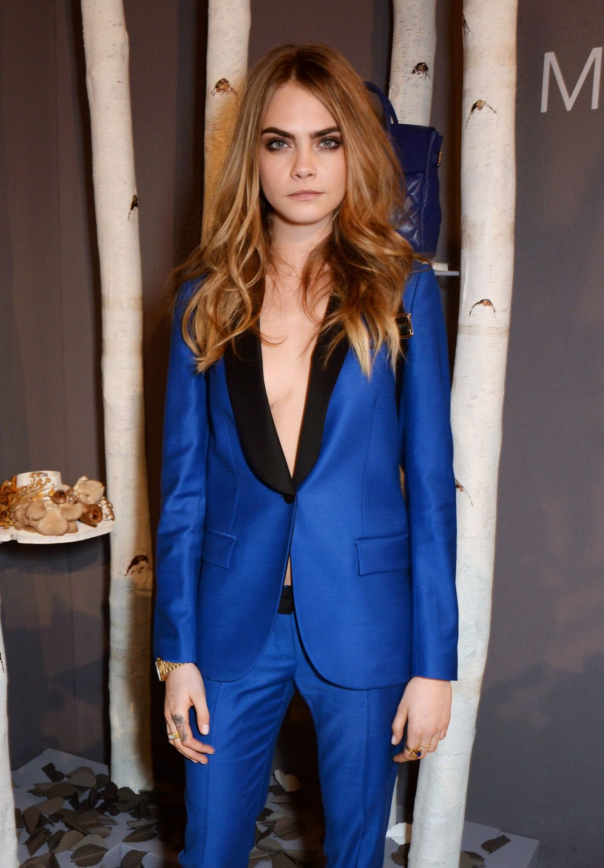 879deabed0ec CARA DELEVINGNE at Mulberry Dinner to Celebrate Cara Delevingne Collection  Launch