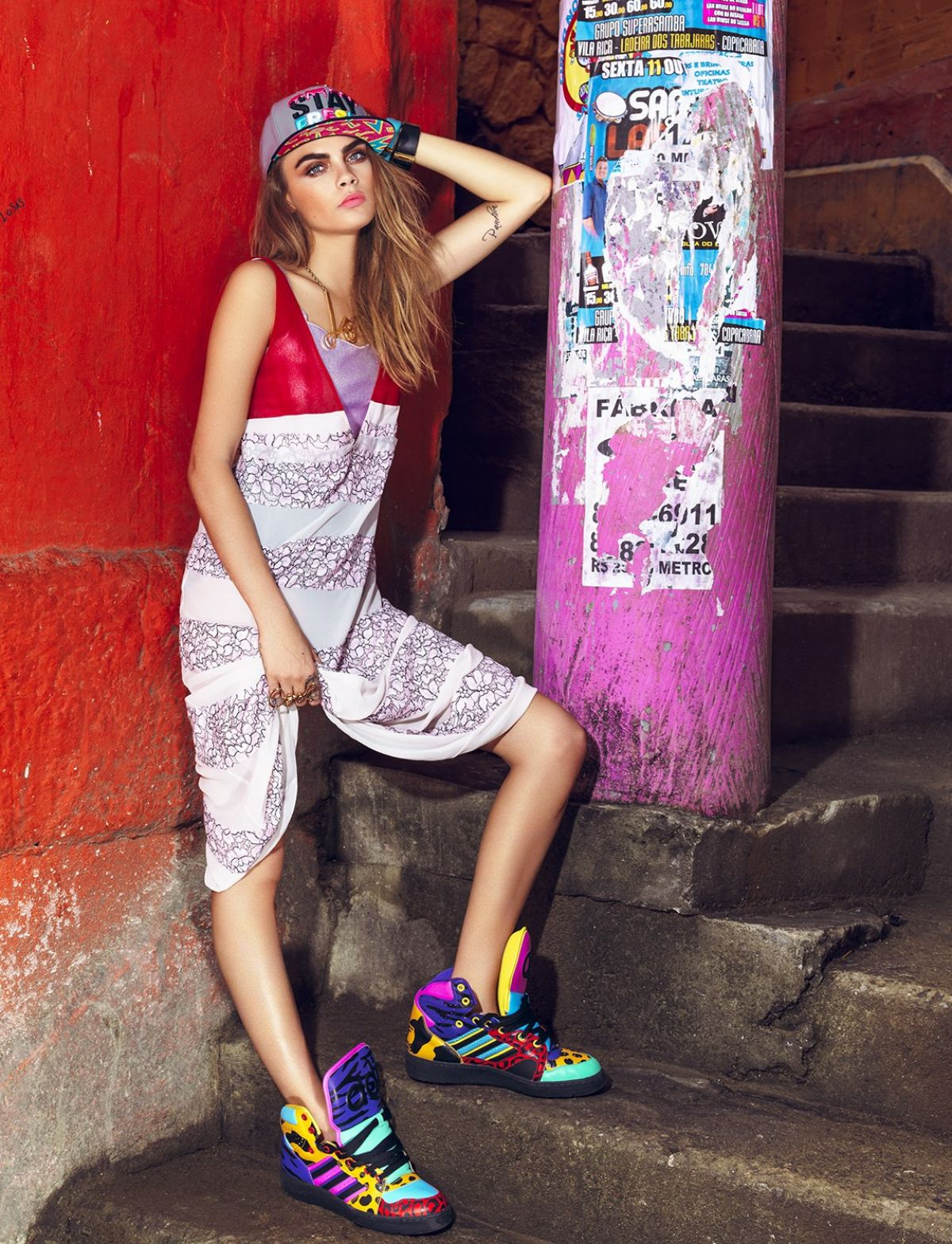 Cara Delevingne In Vogue Magazine Brazil February 2014 Issue Hawtcelebs Hawtcelebs