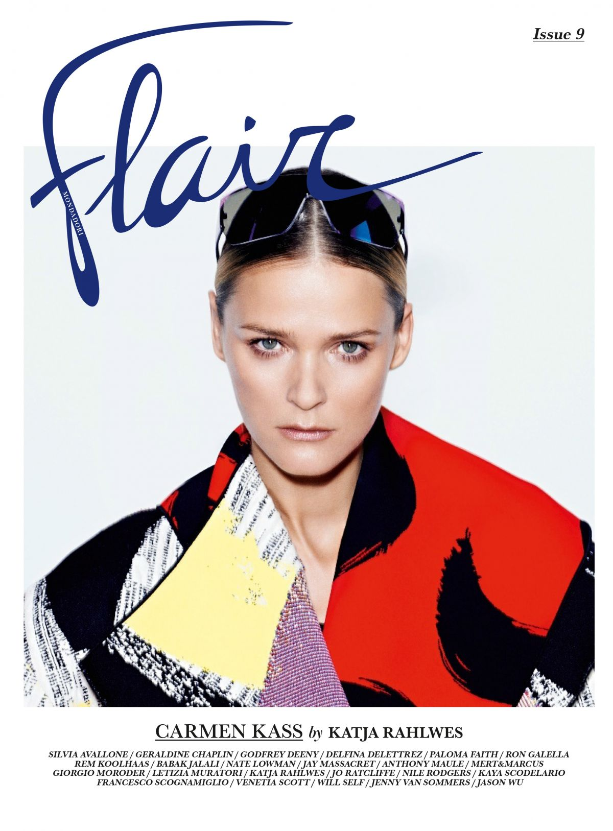 CARMEN KASS in Flair Magazine, March 2014 Issue