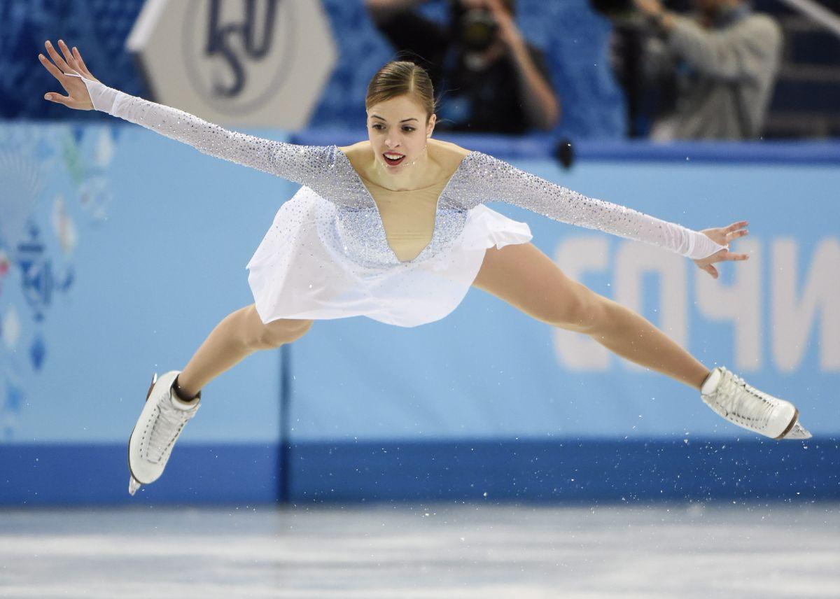 CAROLINA KOSTNER at 2014 Winter Olympics in Sochi