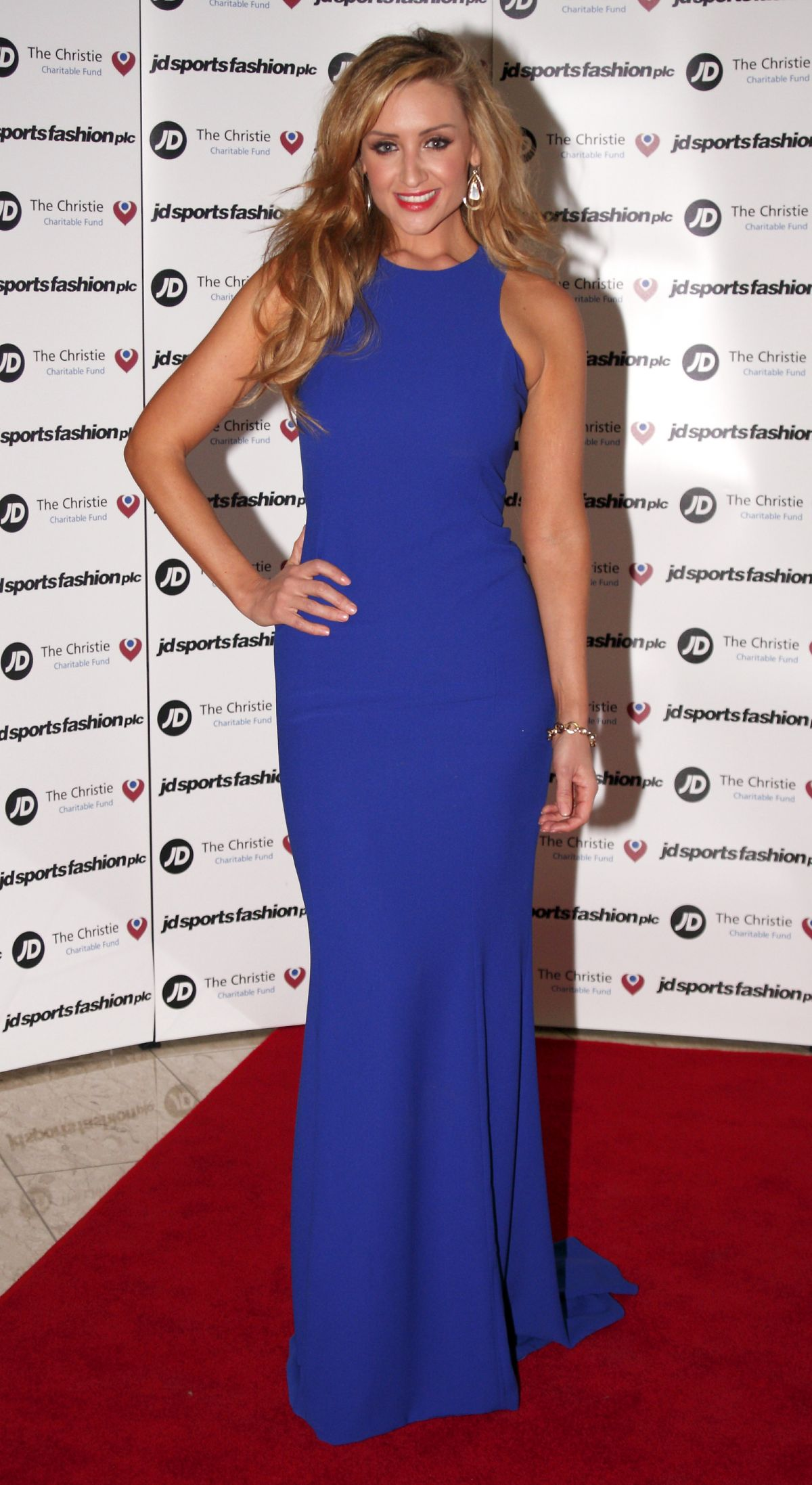 Catherine Tyldesley At JD Diamond Charity Ball In