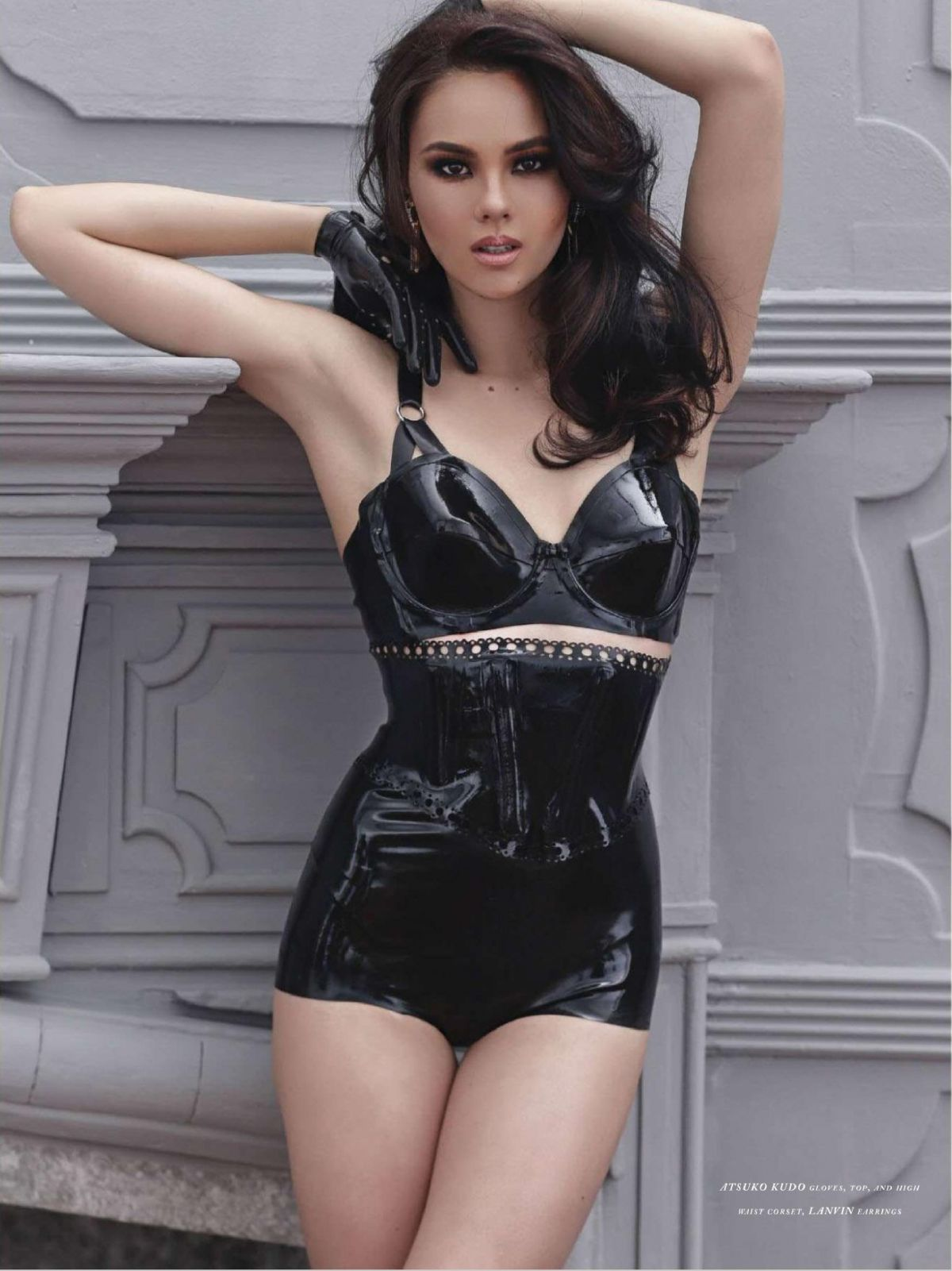 CATRIONA GRAY in Rogue Magazine, Phillippines January/February 2014 Issue
