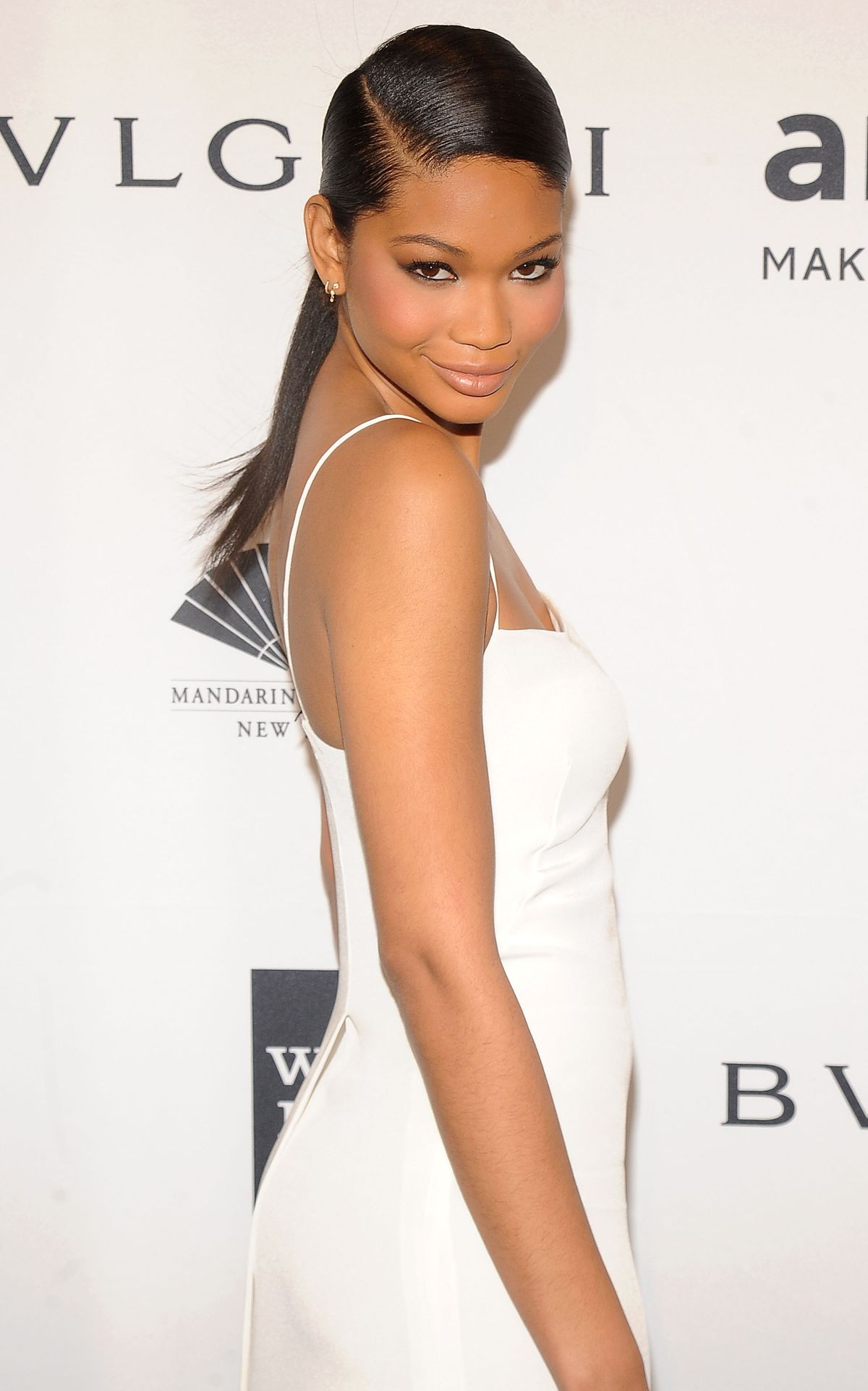CHANEL IMAN at 2014 AMFAR Gala in New York