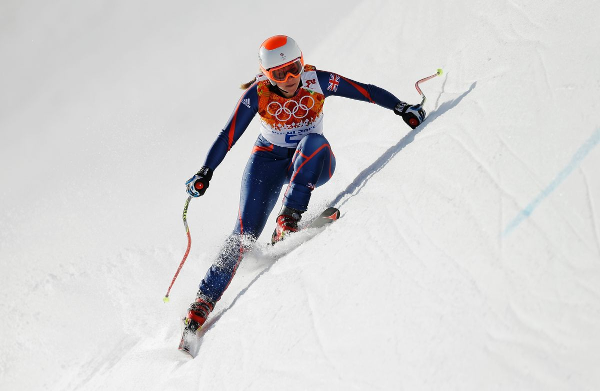 CHEMMY ALCOTT at 2014 Winter Olympics in Sochi