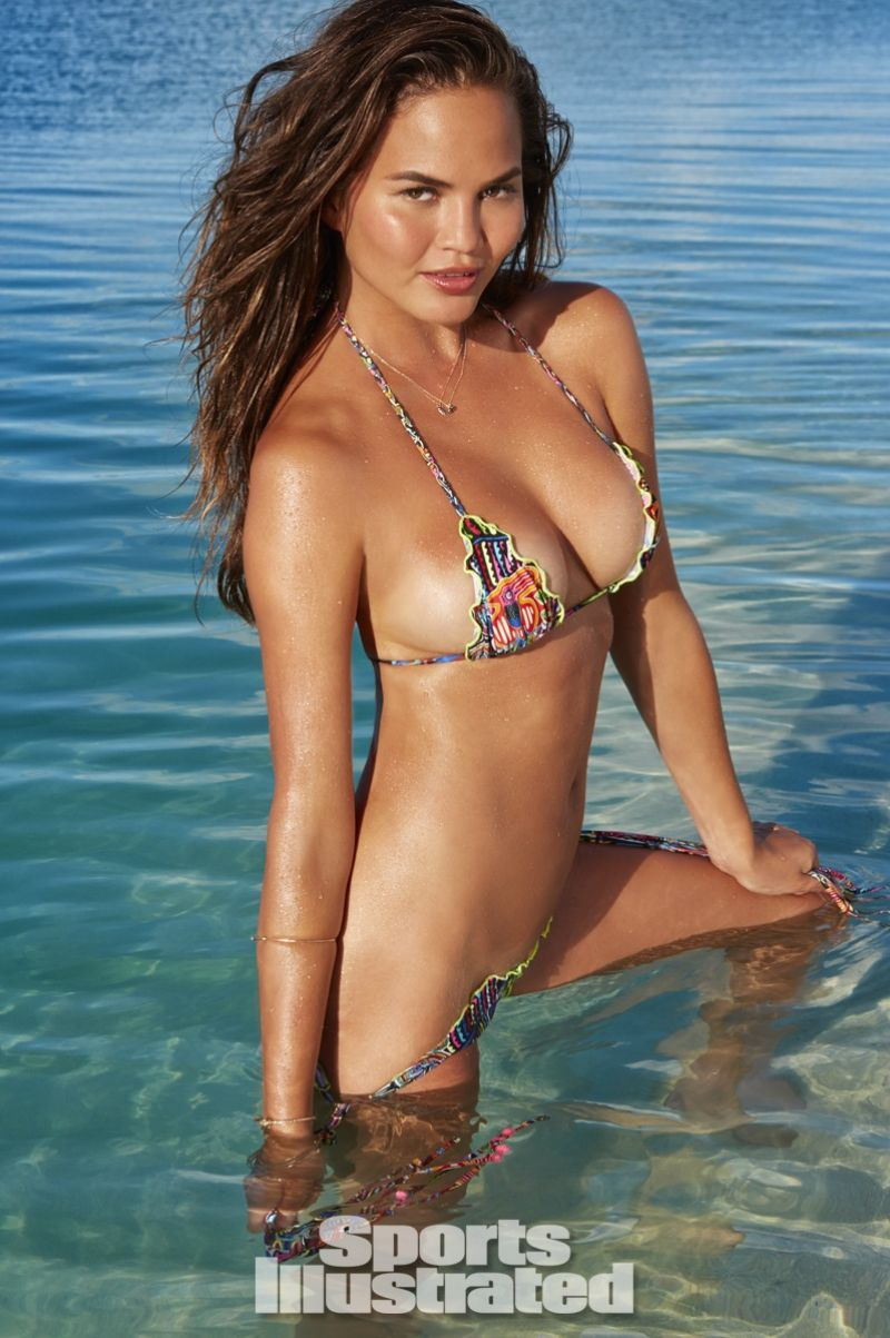 CHRISSY TEIGEN in Sports Illustrated 2014 Swimsuit Issue ...