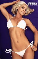 CLAIRE RAE in Fitness Gurls Magazine, March 2014 Issue