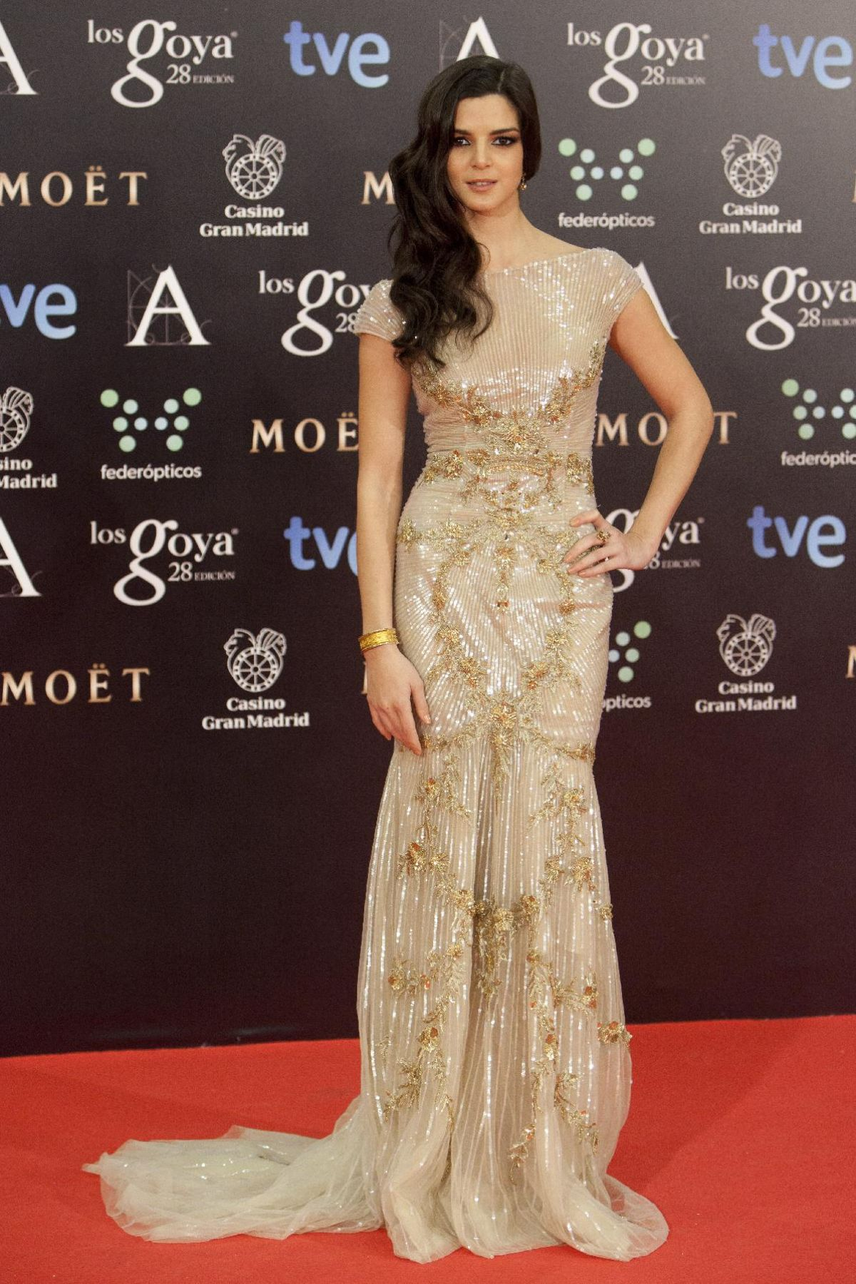 CLARA LARGO at 2014 Goya Film Awards in Madrid