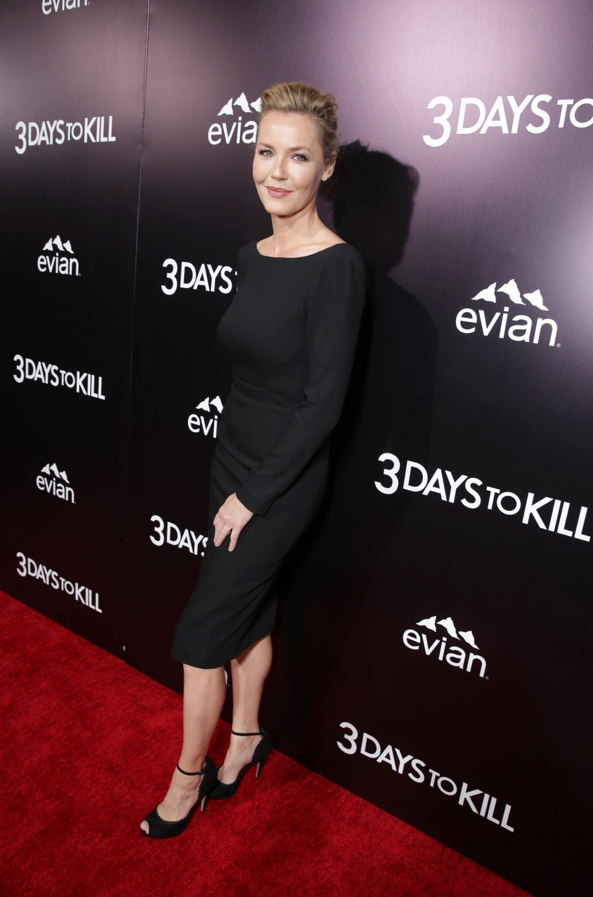 CONNIE NIELSEN at 3 Days to Kill Premiere in Los Angeles