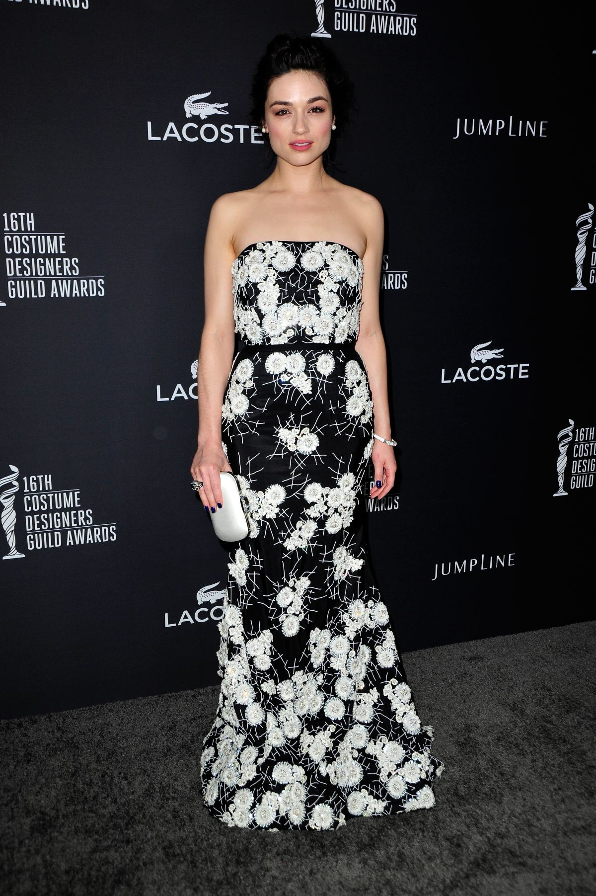 CRYSTAL REED at 2014 Costume Designers Guild Awards in Beverly Hills