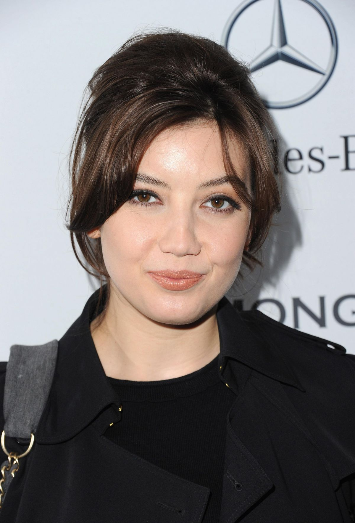DAISY LOWE at Mercedes-Benz and Simon Gao Fashion Show in London