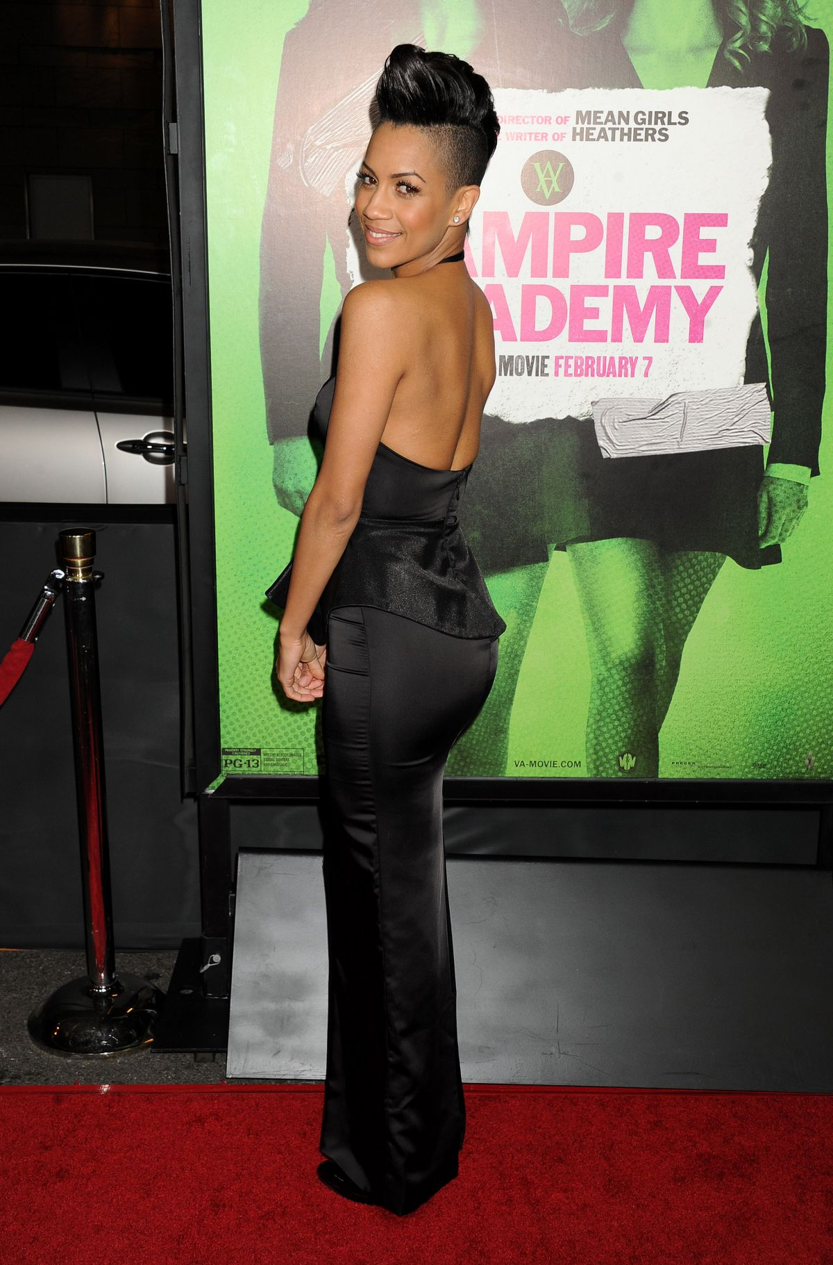 DOMINIQUE TIPPER at Vampire Academy Premiere in Los Angeles