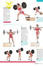 ELENA HIGHT in Oxygen Magazine, February 2014 Issue
