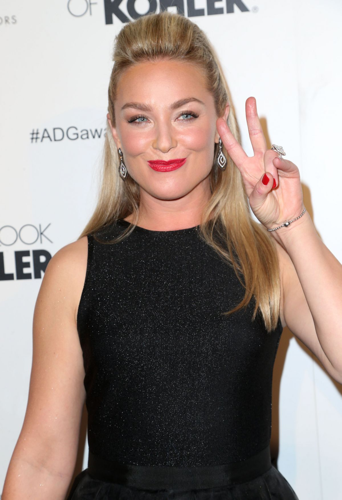 ELISABETH ROHM at 2014 Art Directors Guild Awards in Beverly Hills