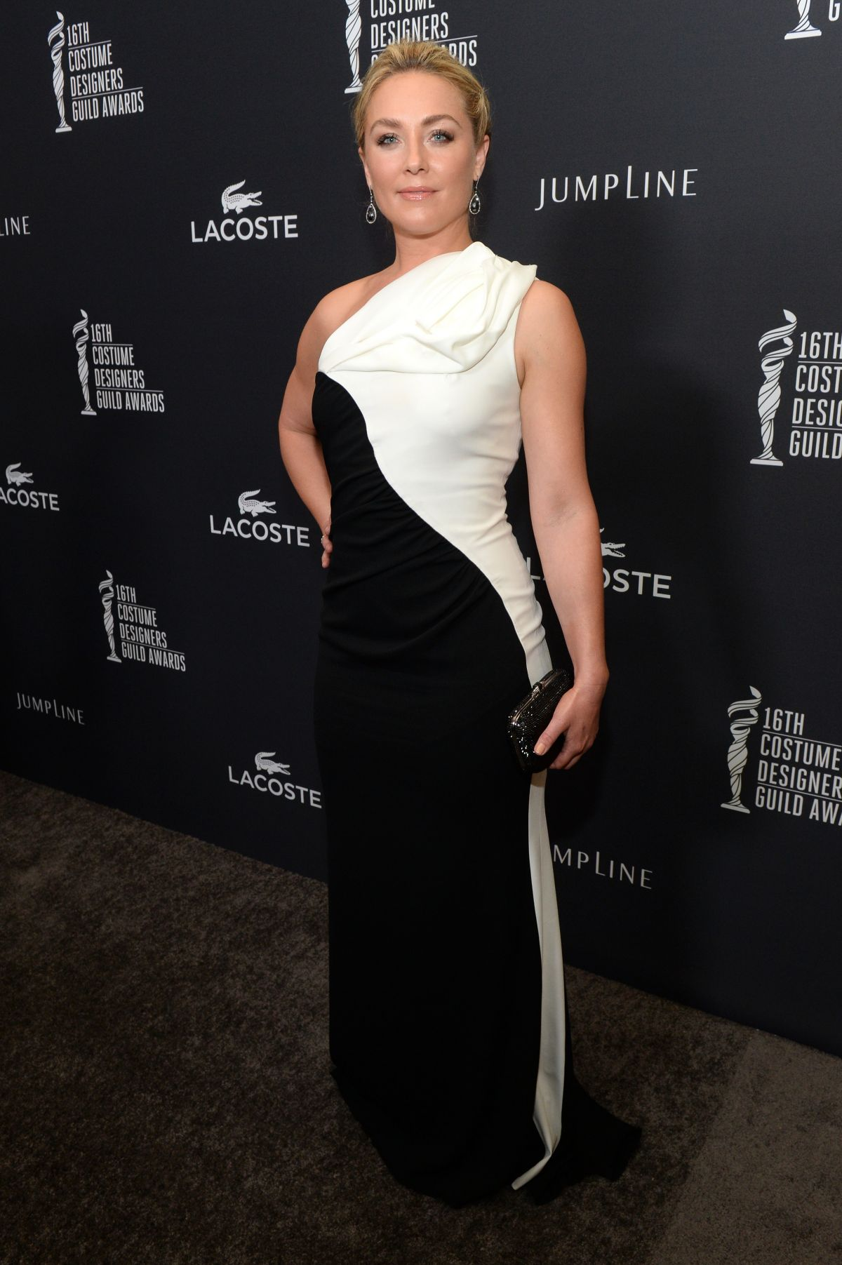 ELISABETH ROHM at 2014 Costume Designers Guild Awards in Beverly Hills