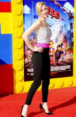 ELIZABETH BANKS at The Lego Movie Premiere in Los Angeles