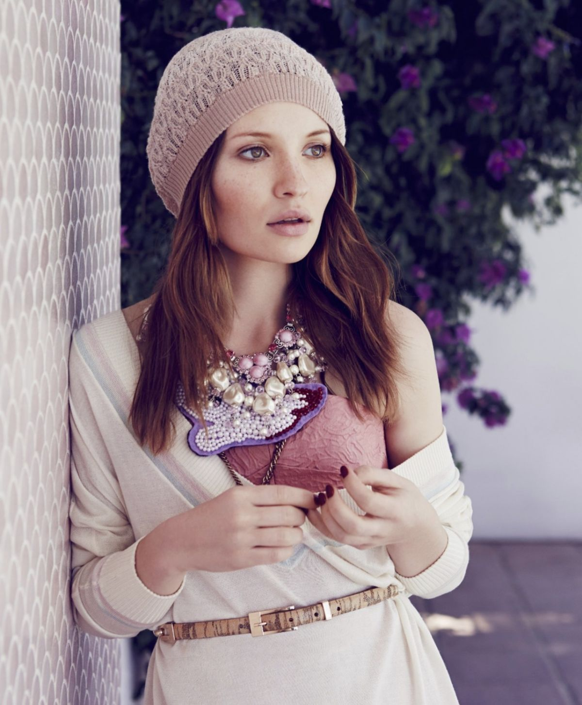 EMILY BROWNING in Instyle Magazine, Australia March 2014 Issue