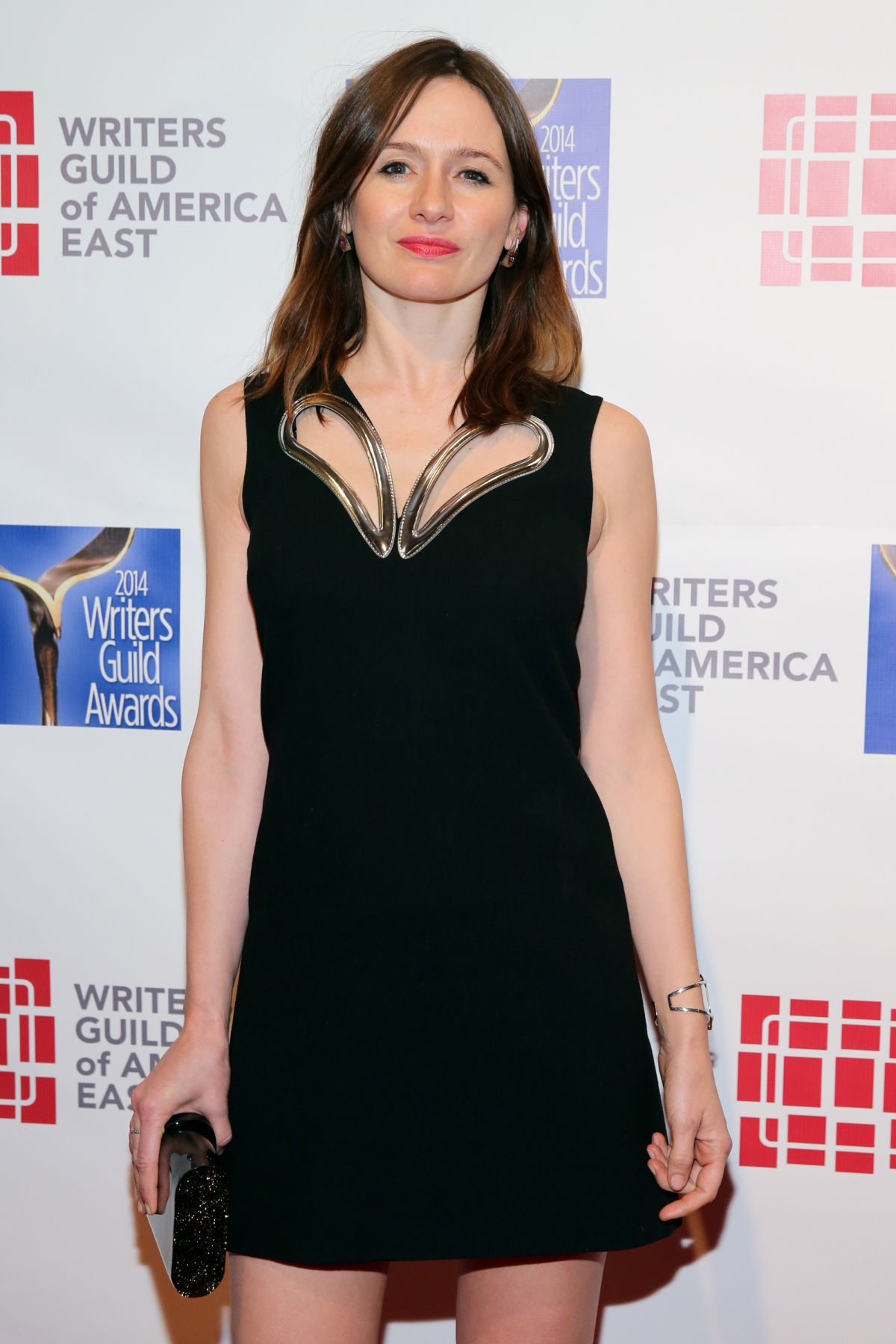 EMILY MORTIMER at 2014 Writers Guild Awards in New York