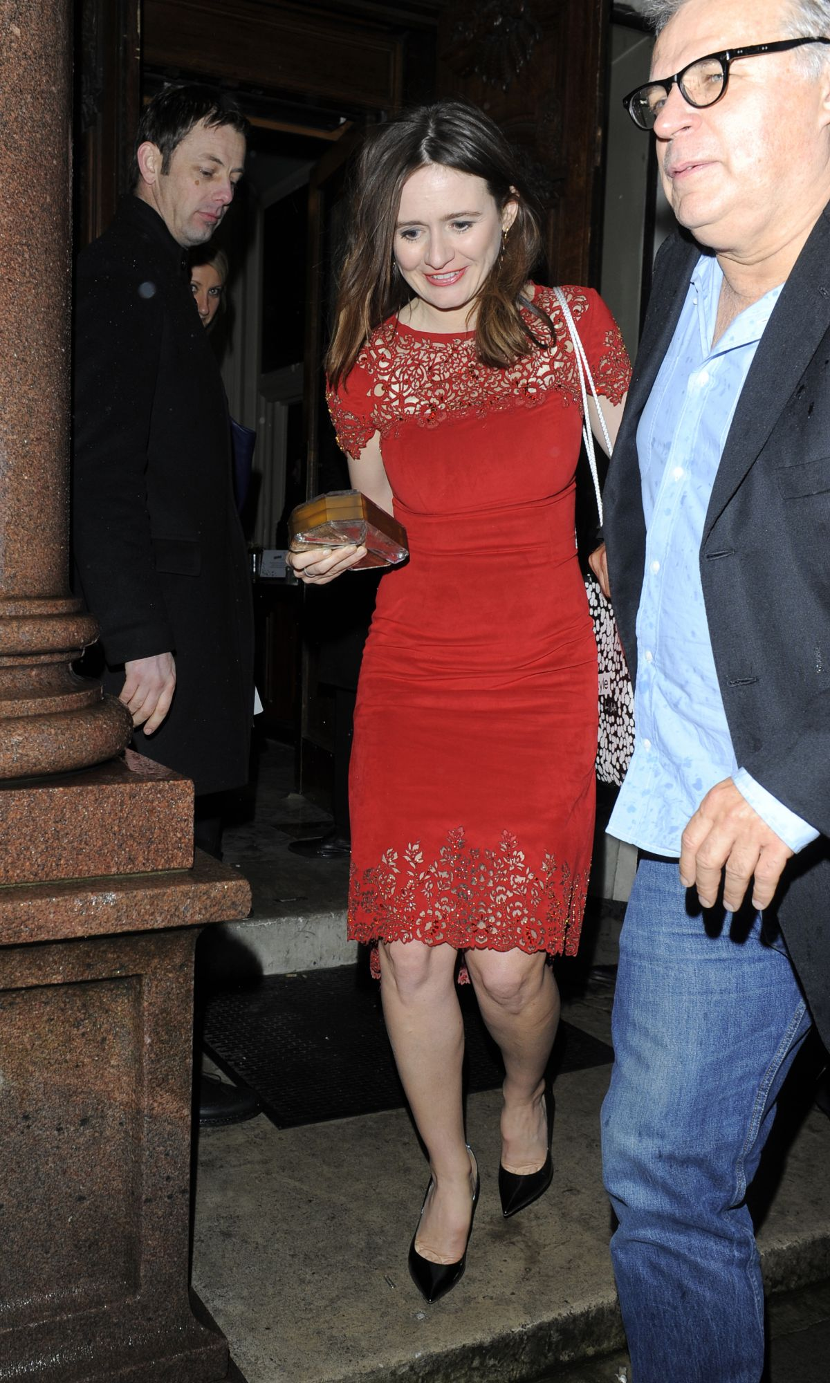 EMILY MORTIMER at Instyle Magazine's the Best of British Talent Pre-Bafta Party in London