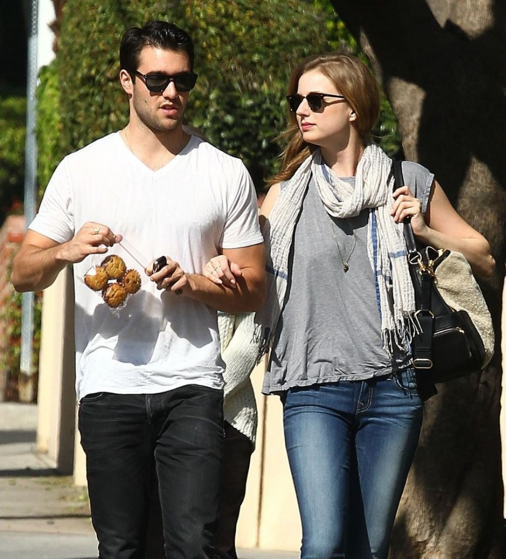 EMILY VANCAMP and Josh Bowman Out in West Hollywood ...  EMILY VANCAMP a...