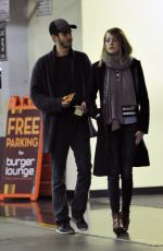 EMMA STONE and Andrew Garfield Out and About in los Angeles