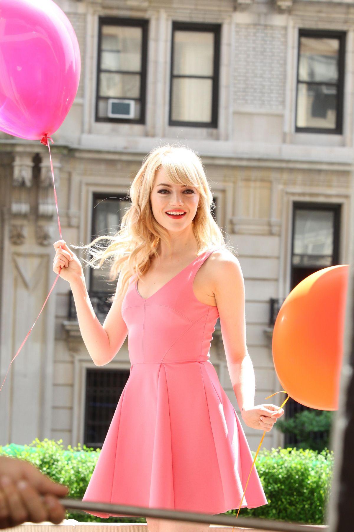Emma Stone Vanity Fair Photoshoot EMMA STONE   Revlon 2014