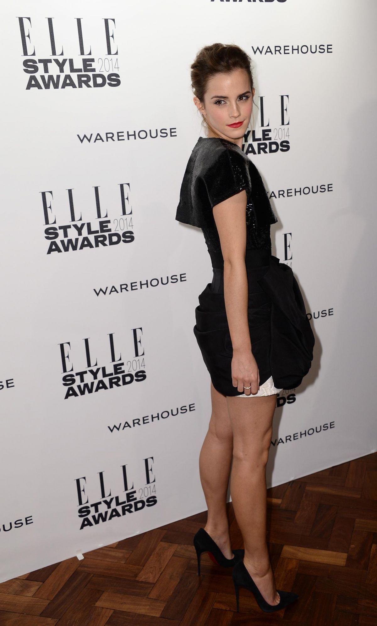 EMMA WATSON at 2014 Elle Style Awards in London – HawtCelebs