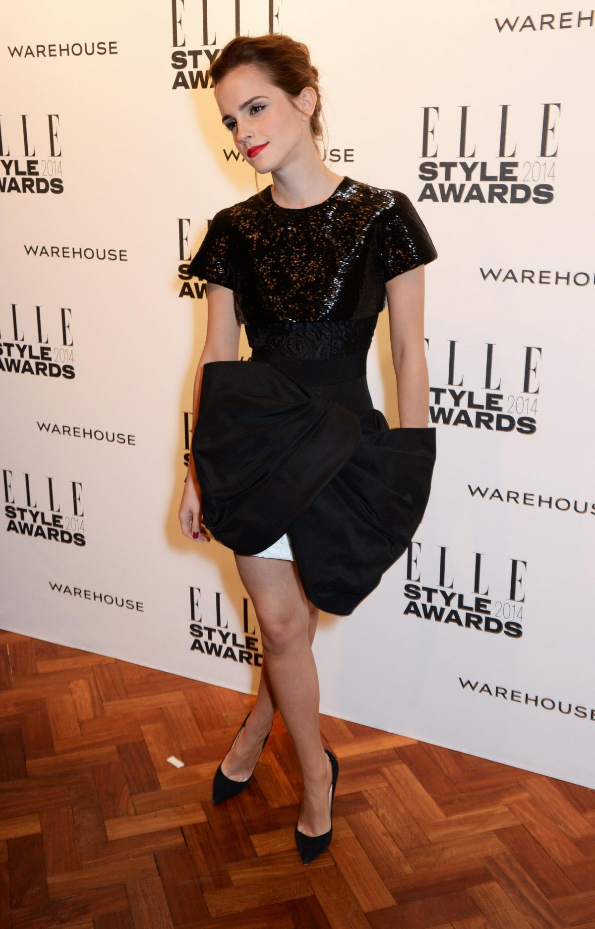 EMMA WATSON at Elle Style Awards 2014 in London