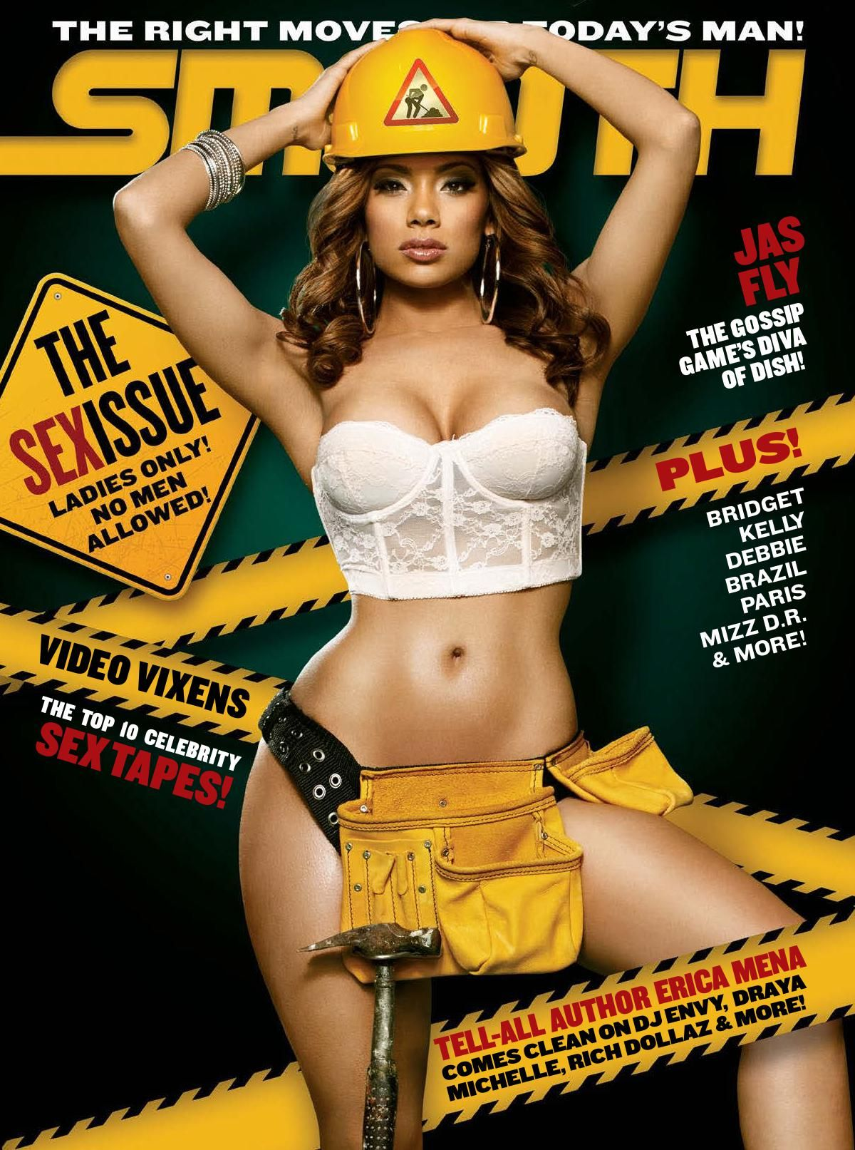 ERICA MENA in Smooth Magazine