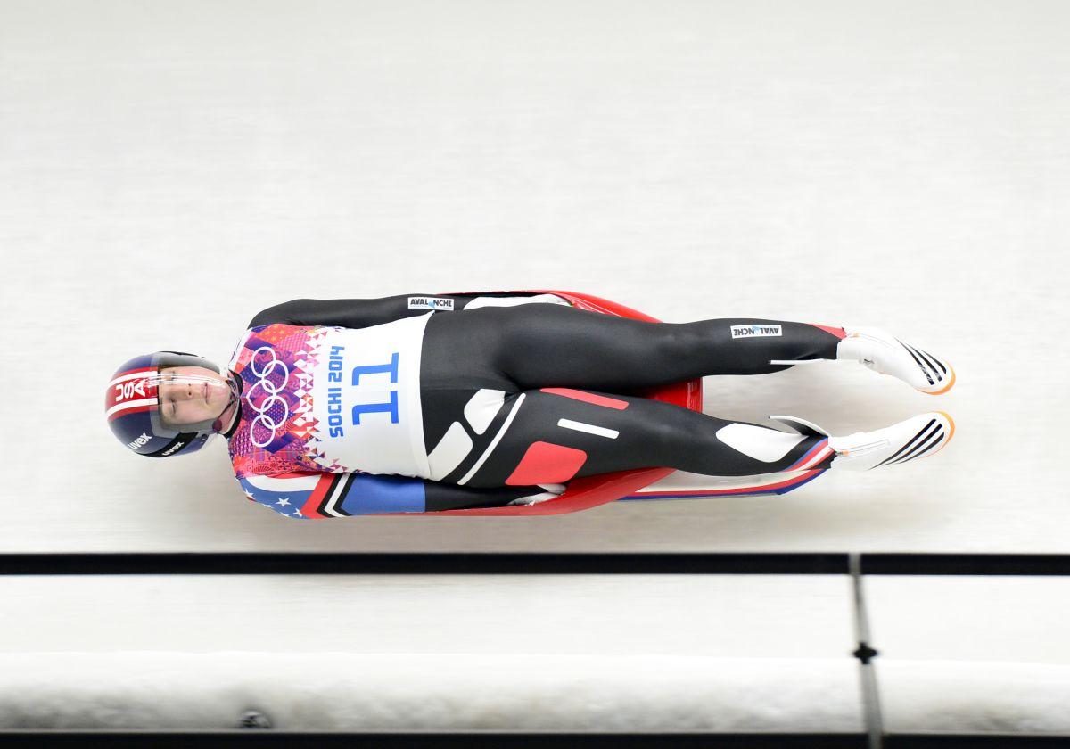 ERIN HAMLIN at 2014 Winter Olympics in Sochi