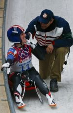 ERIN HAMLIN at 2014 Winter Olympics in Sochi